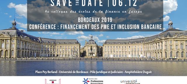 Conférence - Financement des PME et Inclusion Bancaire